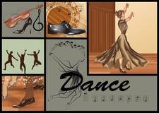 Fije para la danza ilustración del vector