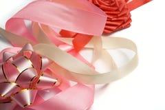 Fije para un ornamento del regalo Foto de archivo libre de regalías