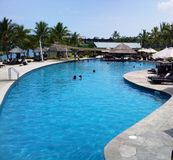 FIJI Denarau Island Wyndham Resort Pool. Denarau Island Wyndham Resort Pool stock photography