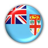 Fiji Flag. World Flag Button Series - Oceania - Fiji (With Clipping Path Royalty Free Stock Photography