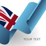 Fiji flag. Patriotic design. Vector illustration. Fiji flag. Patriotic design. Waving flag Stock Photo