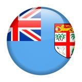 Fiji Flag Vector Round Icon. Illustration Stock Image