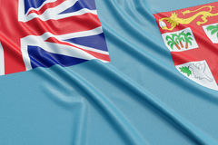 Fiji flag Royalty Free Stock Image
