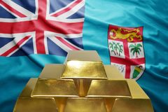 Fiji gold reserves Royalty Free Stock Photo