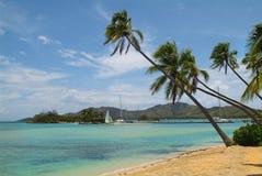 Fiji, het Eiland van Malolo Lailai stock afbeeldingen