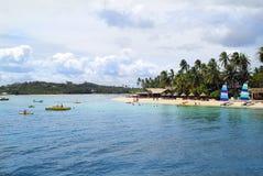 Fiji, het Eiland van Malolo Lailai stock foto's