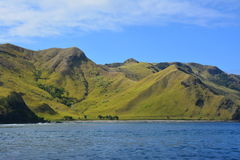 Fiji hilly landscape Royalty Free Stock Photo