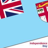 Fiji independence day Royalty Free Stock Photography