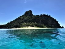 Fiji Island Matamanoa Island. In Figi royalty free stock photography