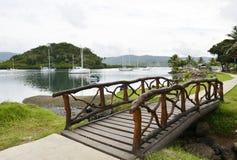 Fiji. The Island of Savusavu, Fiji, in the South Pacific royalty free stock photography