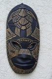Fiji, Mask. Fiji, traditional handmade wooden mask royalty free stock photography