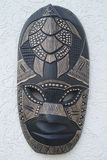 Fiji, Mask. Fiji, wooden mask from Melanesia royalty free stock image