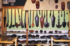 Fiji Melanesia, souvenir royaltyfria bilder