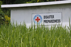 Fiji Red Cross Disaster Preparedness Stock Photo