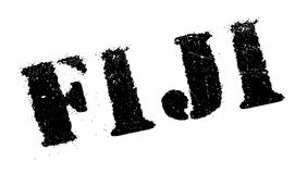 Fiji stamp rubber grunge. Fiji stamp. Grunge design with dust scratches. Effects can be easily removed for a clean, crisp look. Color is easily changed Royalty Free Stock Photography