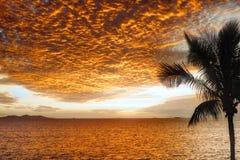 Fiji Sunset Stock Photos