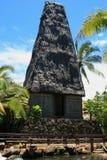 fiji tempel royaltyfria bilder