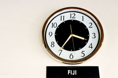 Fiji Time Stock Images