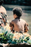 Fijian-Ausführende lizenzfreie stockbilder