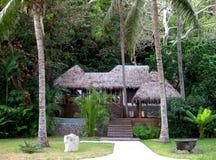 Fijian bure 库存图片
