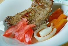 Fijian Curried Corned Beef Stock Image