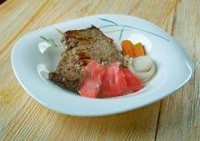 Fijian Curried Corned Beef Stock Photo