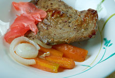 Fijian Curried Corned Beef Stock Photography