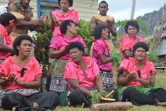 Fijian ensemble Stock Photo