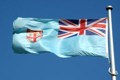Fijian flag Royalty Free Stock Image