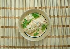Fijian Indian Fish Curry. South indian food , close up Royalty Free Stock Photography
