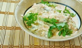 Fijian Indian Fish Curr. Y , south indian food , close up Royalty Free Stock Photography