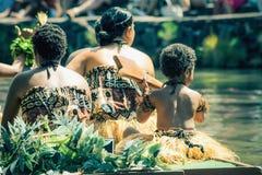 Fijian Performers Royalty Free Stock Photography