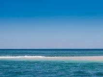 Fijian sand cay Stock Images