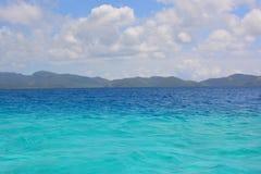 Fijian sea Stock Image