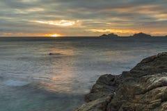 Fijian-Sonnenaufgang Stockbilder
