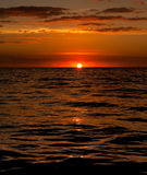 Fijian Sunset Royalty Free Stock Images