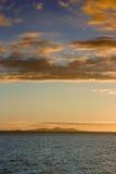 Fijian sunset Royalty Free Stock Photos