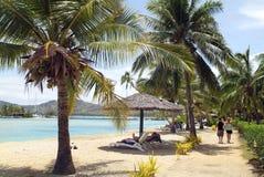 Fijiansk ö arkivbilder