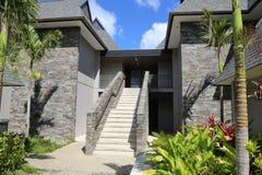 Fijiansk semesterort Arkivfoto
