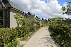 Fijiansk semesterort Arkivbilder