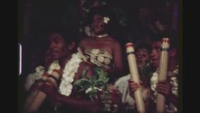 Fijianvolksmuziek stock videobeelden