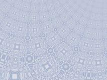 Fijn grijs modern abstract fractal art. Achtergrondillustratie met een vervormd gedetailleerd patroon die een gordijn resembing C Royalty-vrije Stock Fotografie