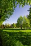 Fijn groot park in Riga Royalty-vrije Stock Fotografie