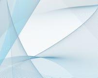 Fijne blauwe netwerkachtergrond Royalty-vrije Stock Afbeelding