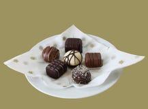 Fijne Chocolade Stock Fotografie