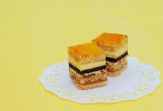 Fijne fruitcakes Stock Foto