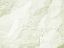 Fijne geweven oude document vouwen & vlekken. EPS 8 Stock Afbeeldingen