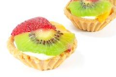 Fijne het Dineren Desserts Stock Afbeeldingen