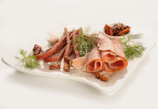 Fijne vleeswaren Royalty-vrije Stock Foto