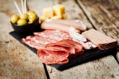 Fijne vleeswaren Royalty-vrije Stock Afbeelding